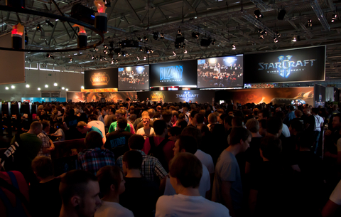 Blizzard Booth at Gamescom